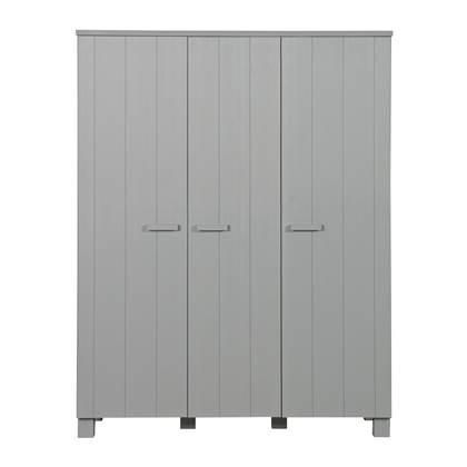 3-deurs kledingkast