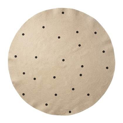 Ferm Living Jute Vloerkleed Dots