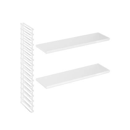 Tomado boekenrekuitbreiding wit frame en planken