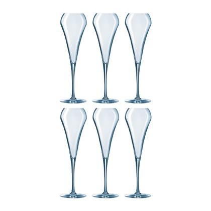 Chef & Sommelier Open Up Champagneglazen 0.2 L - Set van 6