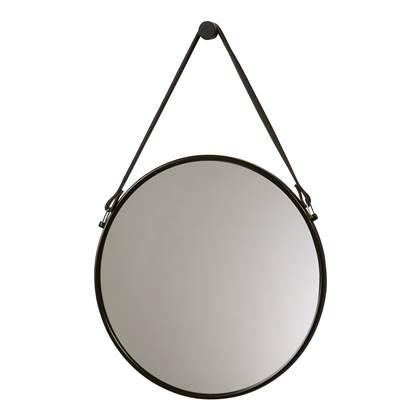 Aquanova Thymo Spiegel Ø 47 cm Zwart