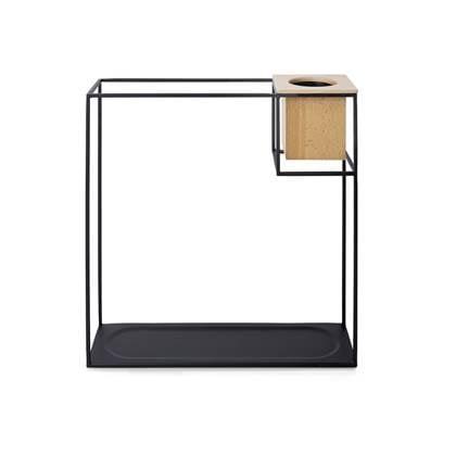 Umbra Cubist Wandrek Zwart 38 x 38 cm