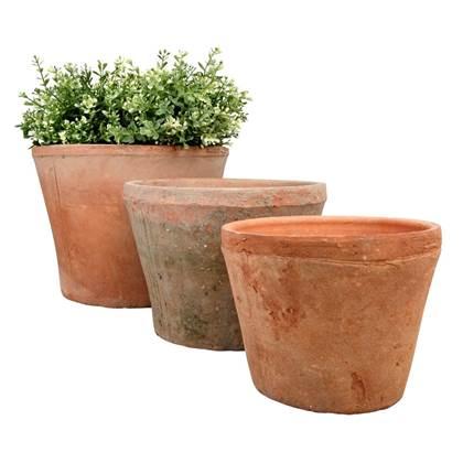 Esschert Design Terracotta Bloempotten Set van 3