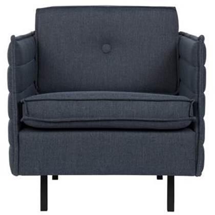 Zuiver Comfort Stoel 72 cm Grijs-Blauw