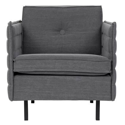 Zuiver Jaey Loungestoel 70 cm Grijs