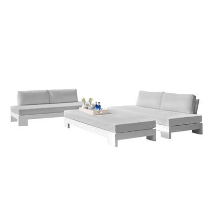 Life Outdoor Living Cube Loungeset met LED-verlichting