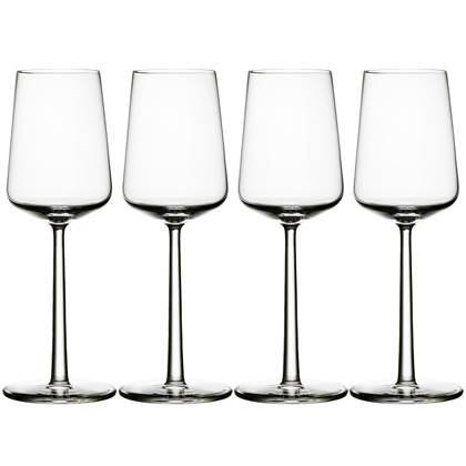 Iittala Essence Wit Wijnglas Set van 4 33 cl