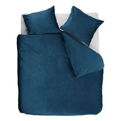 At Home Tender dekbedovertrek - Blue - 2-persoons (200x200/220 cm + 2