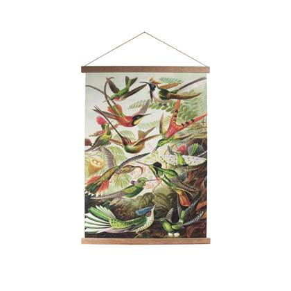Art for the Home Birds Textielposter