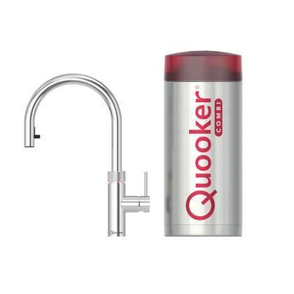Quooker COMBI+ Fusion FLEX Chroom Kokendwaterkraan