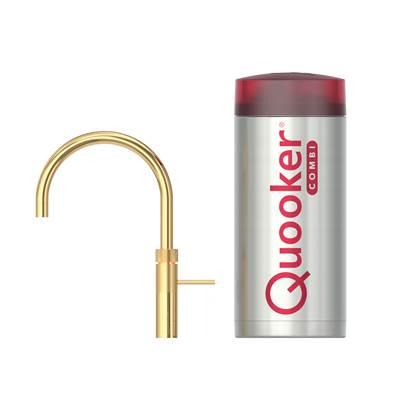 Quooker COMBI+ Fusion Round Goud Kokendwaterkraan