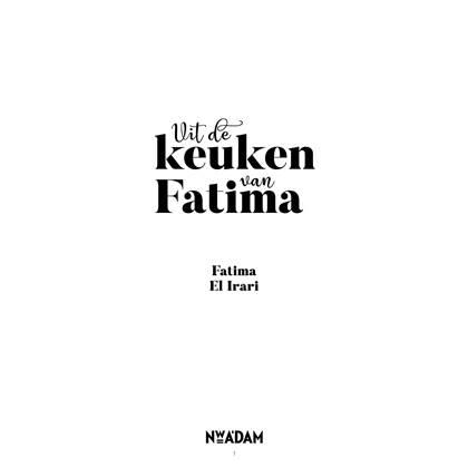 Uit De Keuken Van Fatima Fatima El Irari Kopen Shop Bij Fonq