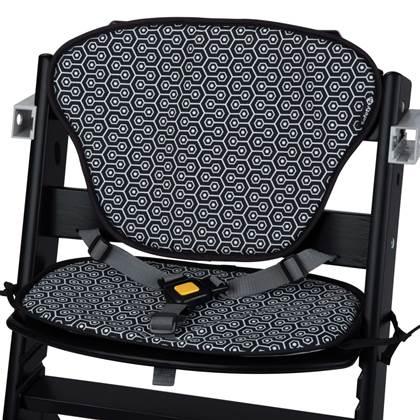 Safety 1st Kinderstoel Timba met kussens zwart en grijs