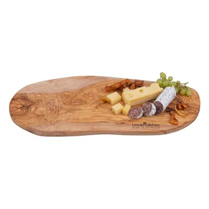 Bowls & Dishes Pure Olive Wood Tapasplank 45-50 cm