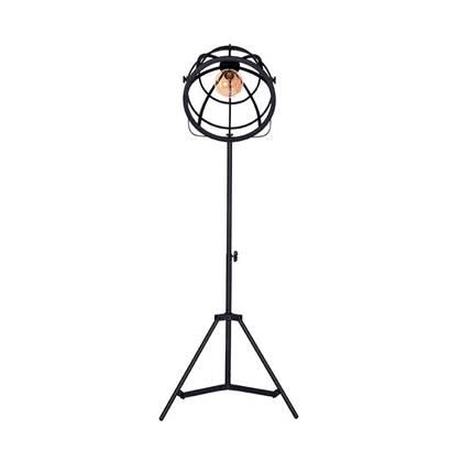 LABEL51 - Vloerlamp Fuse - Zwart Metaal