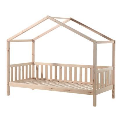 Vipack Dallas Bed met Hekje 90 x 200 cm - Bruin