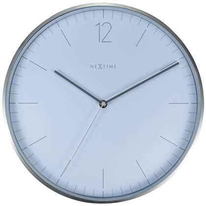 NeXtime Essential Witte Wandklok à 34 cm