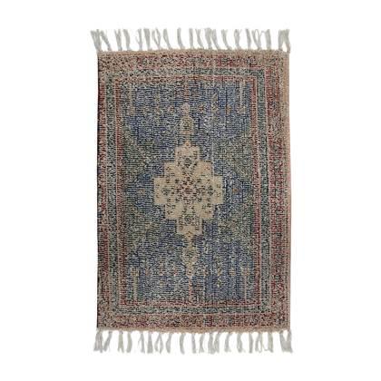 HKliving badmat (60x90 cm) Rood/blauw online kopen