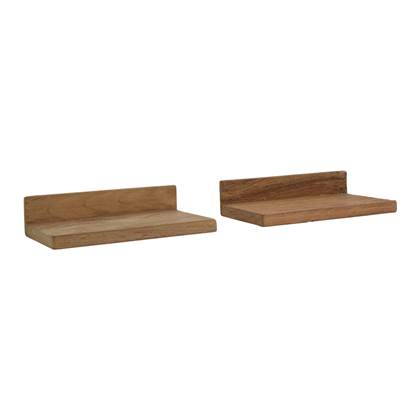 Raw Materials Teak Wandplank 2 st.