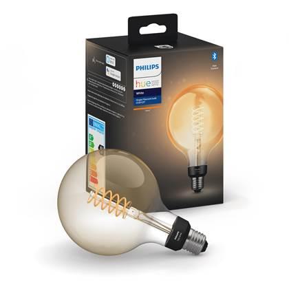Philips Hue White Filament LED-lamp Globe G125