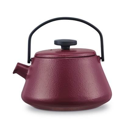 Brabantia T-Time Theepot 0,7 L - Aubergine Red