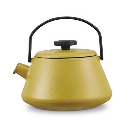 Brabantia T-Time Theepot 0,7 L - Mustard Yellow