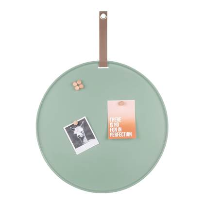 pt. Perky Memo-/magneetbord à 50 cm - Groen vergrijsd