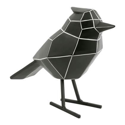 pt Decoratief Object Bird Zwart