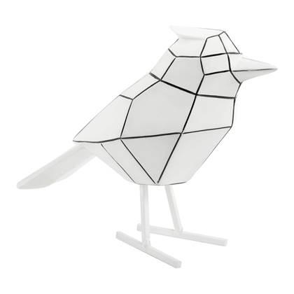 pt. Decoratief Object Bird - Wit