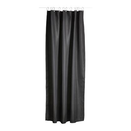 Zone Lux Shower Curtain Black (352028)