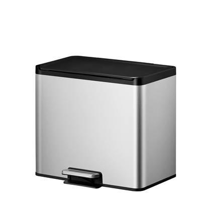 EKO Essential Recycler Pedaalemmer 27 Liter (3x9L) - RVS