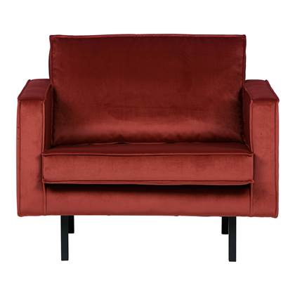 BePureHome Rodeo Loveseat Chestnut