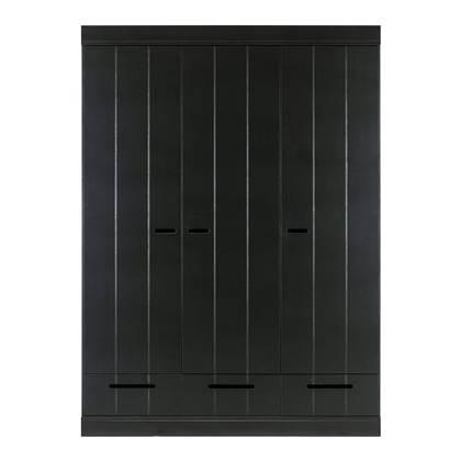 Woood Connect Kast 3-deurs met lades