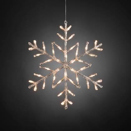 Konstsmide Lichtfiguur Sneeuwvlok Ø 60 cm