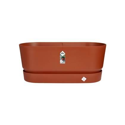 duurzaam product: Elho Greenville Bloembak met Wielen 60 cm