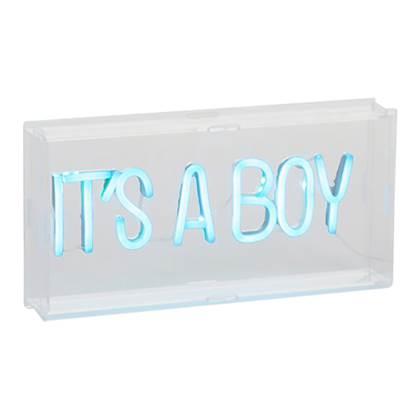 Childhome It's a Boy Neon Lamp