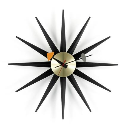Vitra Sunburst Wandklok Ø 47 cm