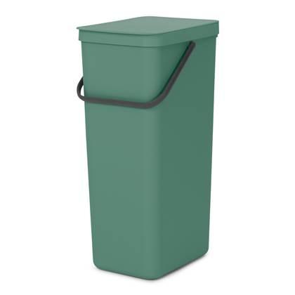 Brabantia Sort & Go Afvalemmer 40 Liter Fir Green online kopen