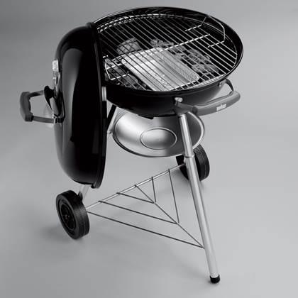 Weber Compact Kettle Houtskoolbarbecue Ø 47 cm