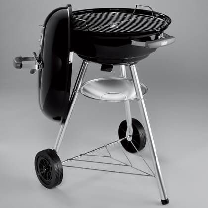 Barbecue Weber Compact Kettle 47 cm Black
