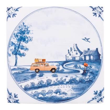 StoryTiles East West Home Is Best Wandtegel 10 x 10 cm