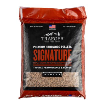 Traeger Signature Blend Pellets 9 kg