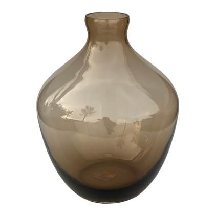 Vase The World Traun Vaas - Bruin