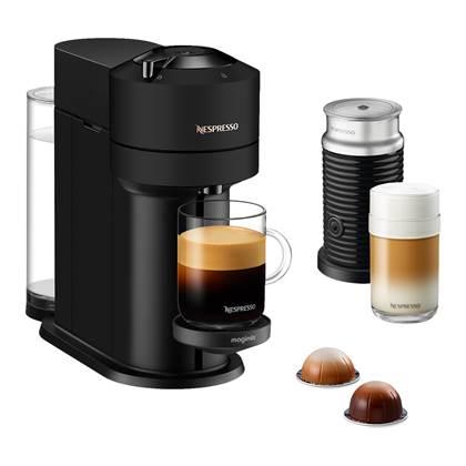 Magimix Nespresso Vertuo Next Koffiemachine + Melkopschuimer Mat Zwart online kopen