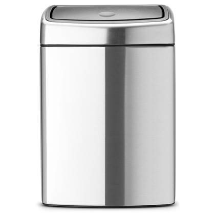 Brabantia Touch Bin Afvalemmer 10 Liter Mat