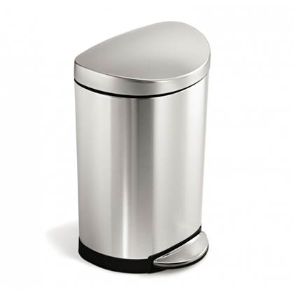 Simplehuman Semi-Round Pedaalemmer 10 Liter