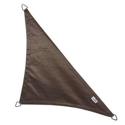 Coolfit schaduwdoek driehoek 90 graden antraciet 4.0 x 4.0 x 5.7 meter