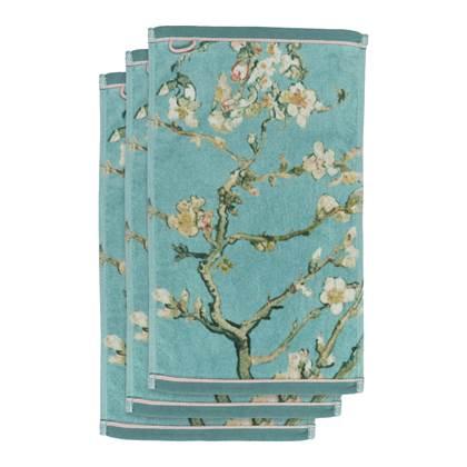 Beddinghouse x Van Gogh Blossom Gastendoek 30 x 50 cm Set van 3 Blauw online kopen