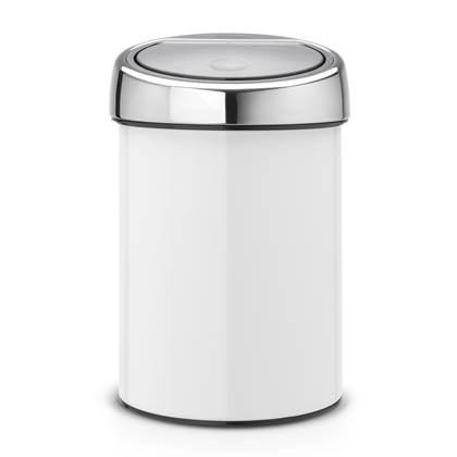 Brabantia Touch Bin Wandafvalemmer 3 Liter