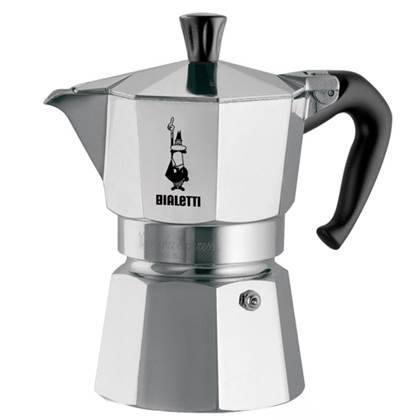 Bialetti Moka Express Koffiemaker Grijs 6 Kops